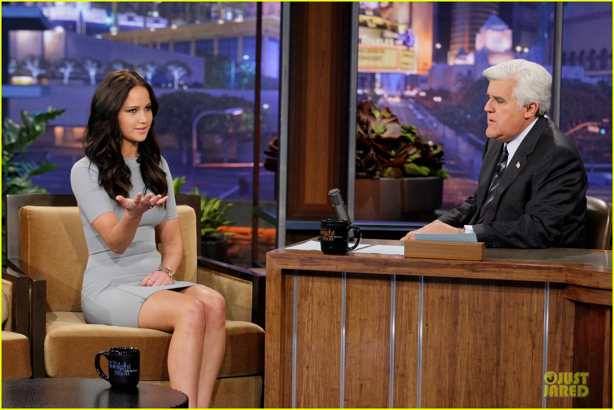 jennifer lawrence tonight show with jay leno appearance 032761081