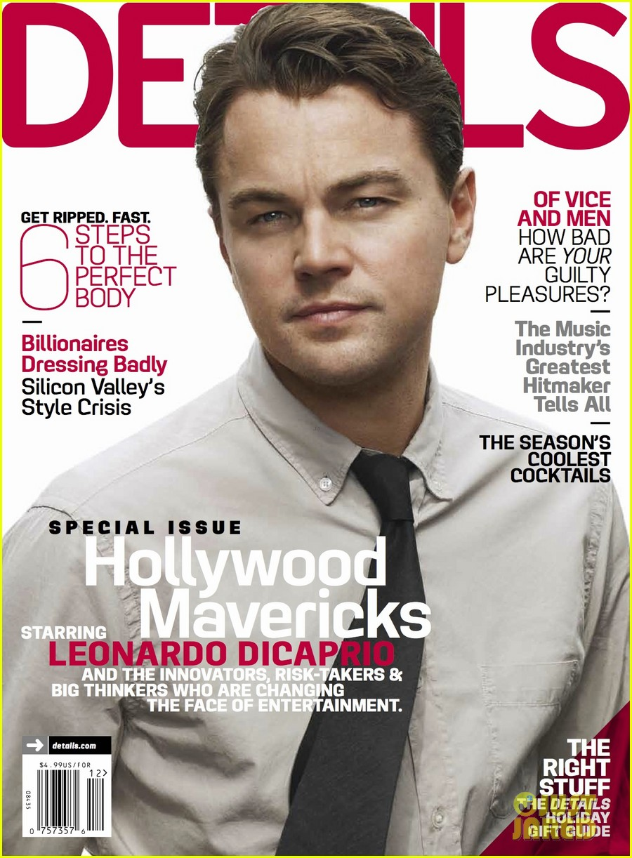 leonardo dicaprio covers details hollywood mavericks issue 02