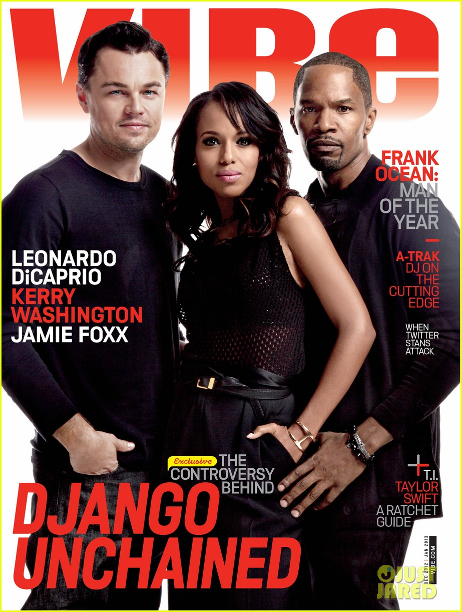 leonardo dicaprio kerry washington cover vibe december january issue 012765305