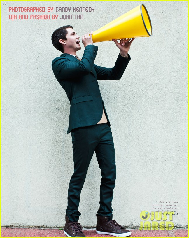 logan lerman covers visual ties magazine 022760078