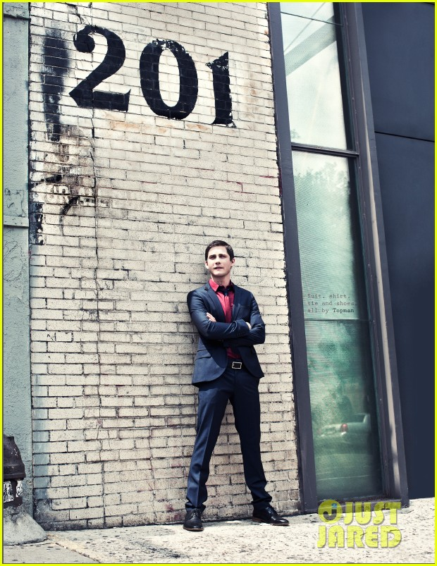 logan lerman covers visual ties magazine 072760083
