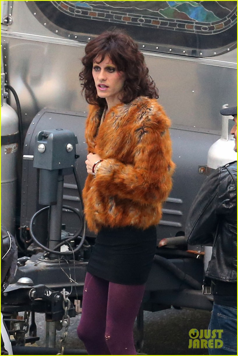 jared leto cross dresses on dallas buyers club set 062758417