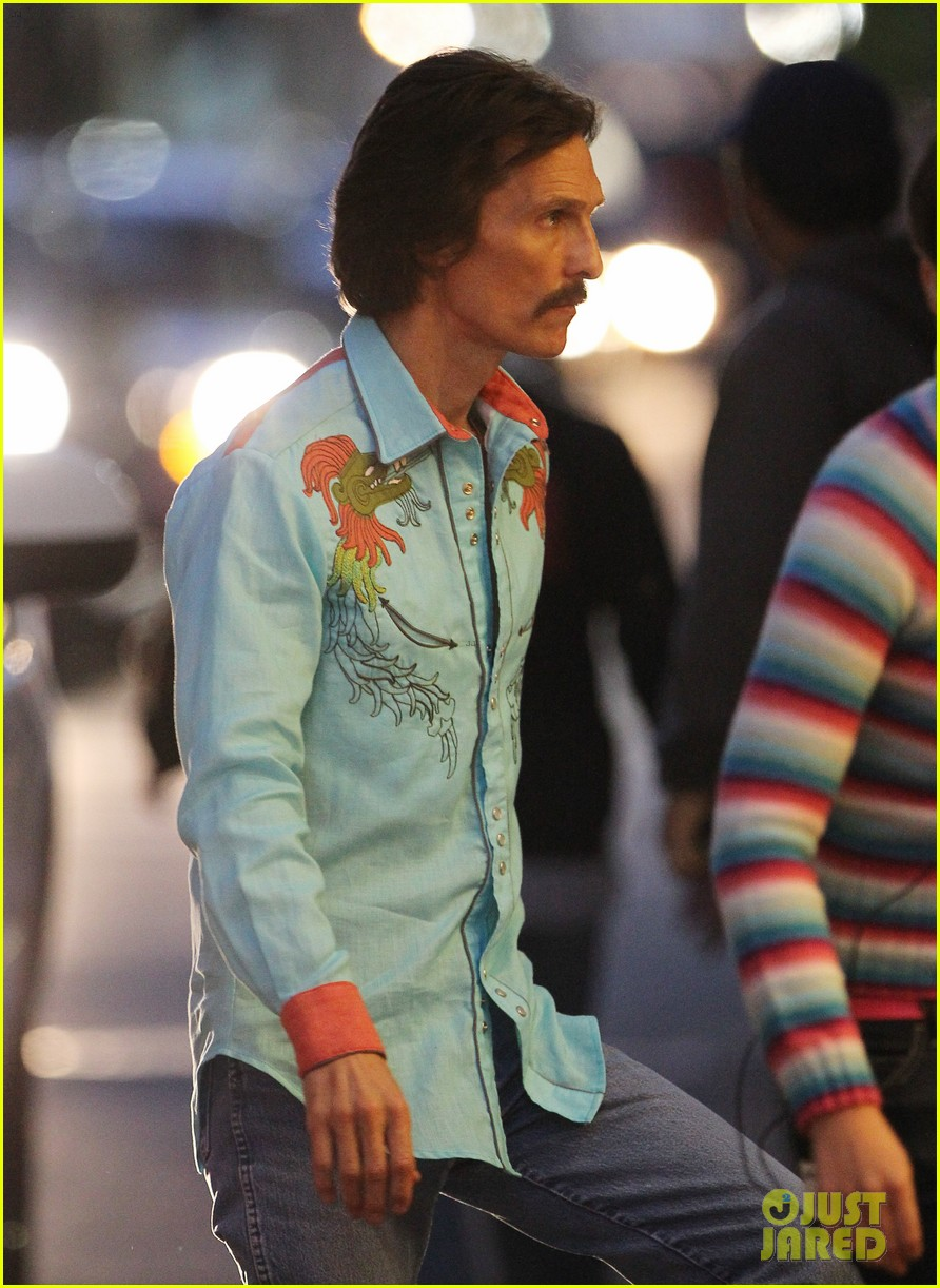 jared leto cross dresses on dallas buyers club set 212758432