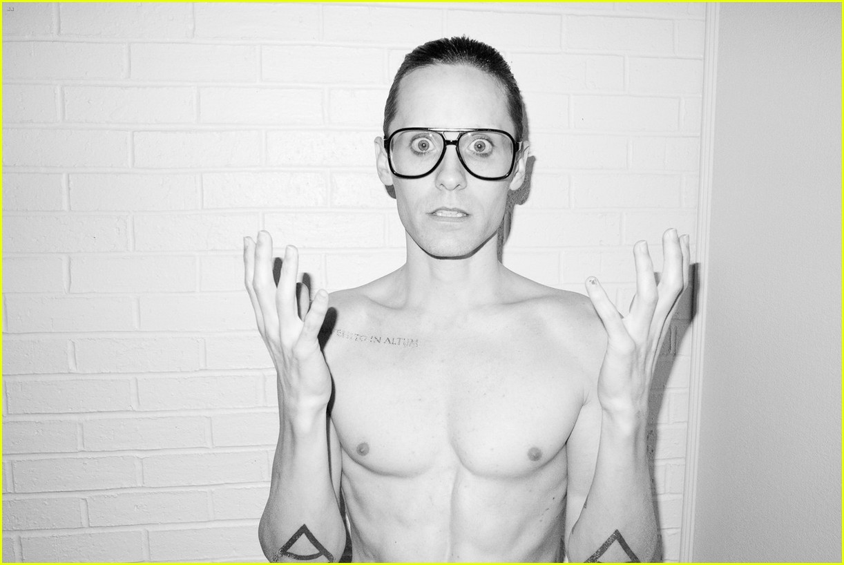 jared leto reveals weight loss shirtless for terry richardson 032765511