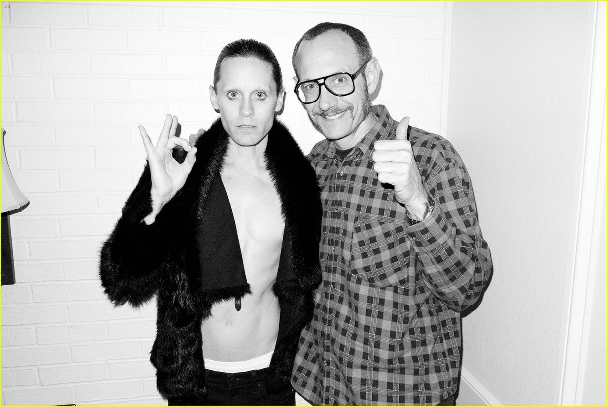 jared leto reveals weight loss shirtless for terry richardson 052765513