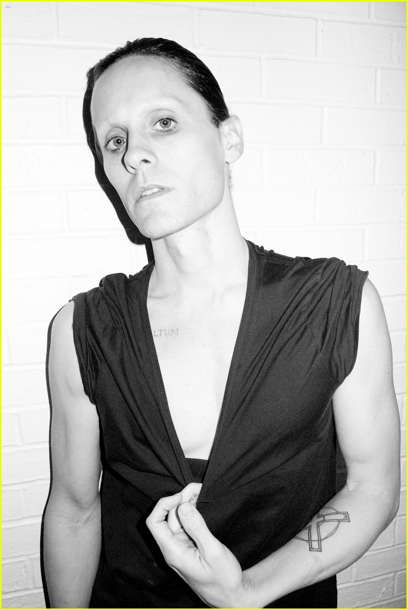 jared leto reveals weight loss shirtless for terry richardson 142765522