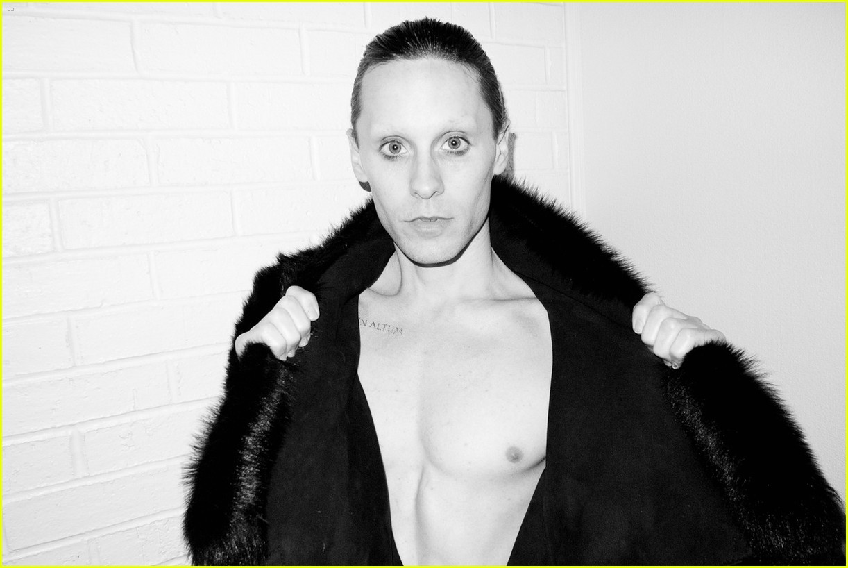 jared leto reveals weight loss shirtless for terry richardson 172765525
