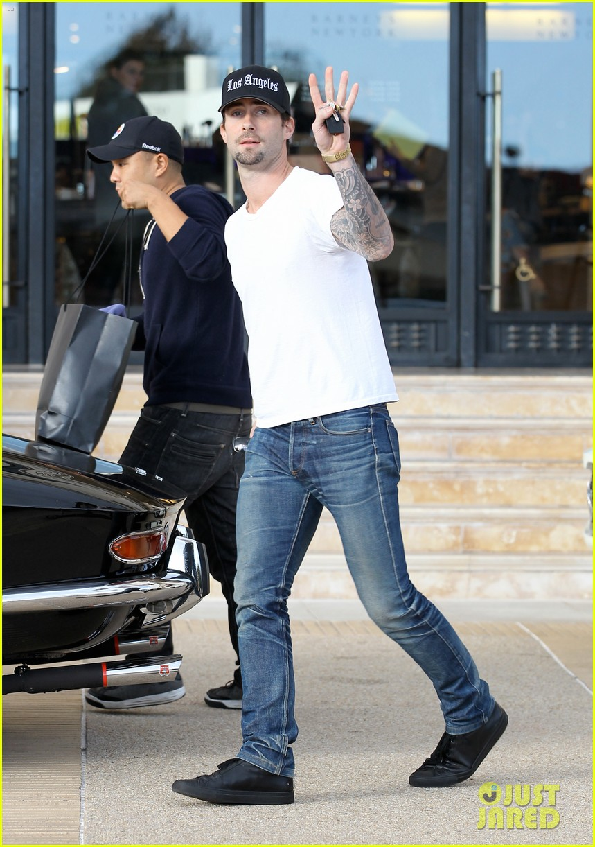 adam levine barneys new york shopper 012755165