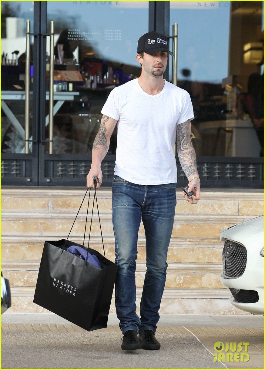 adam levine barneys new york shopper 052755169