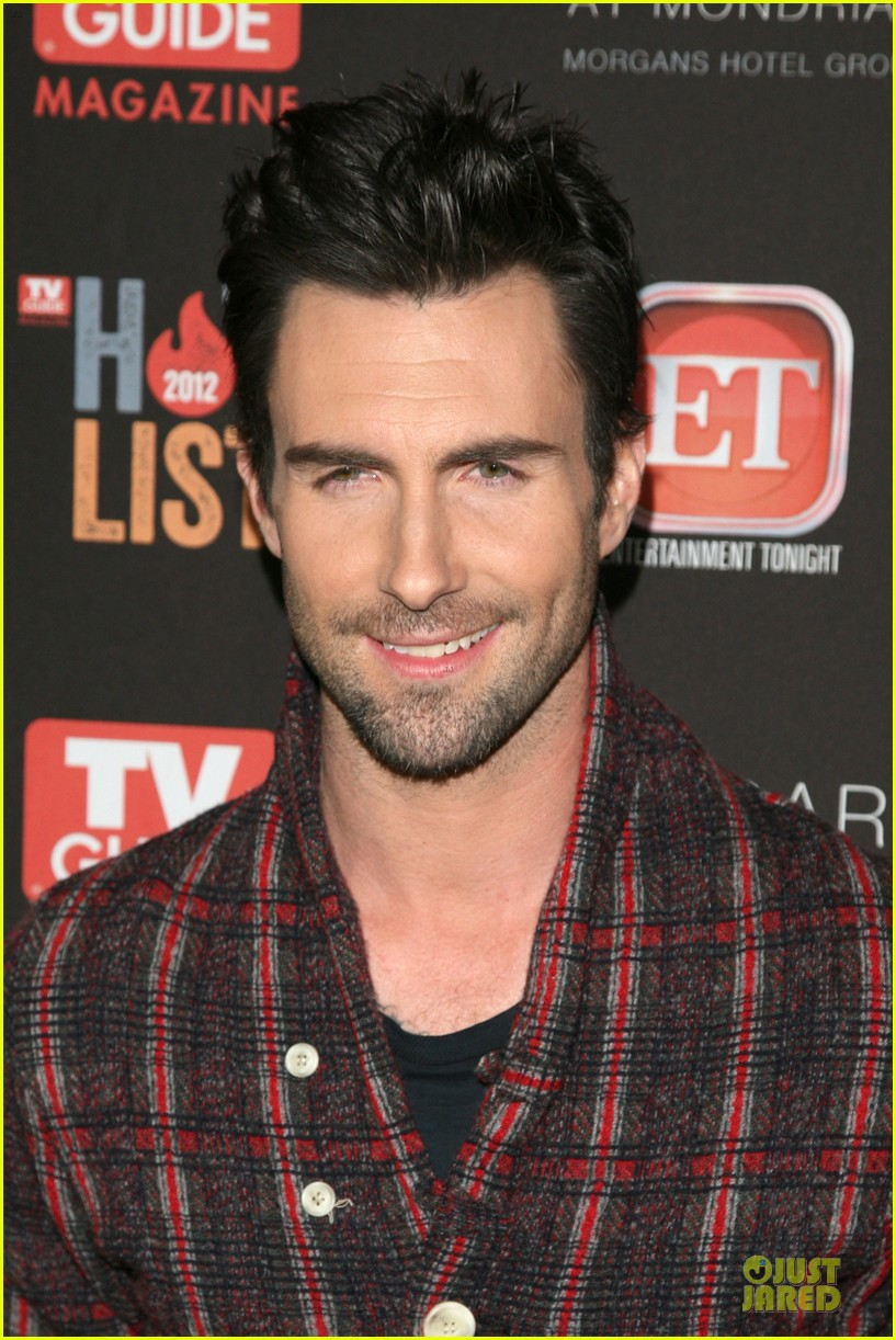 adam levine tv guide magazine hot line party 022757188