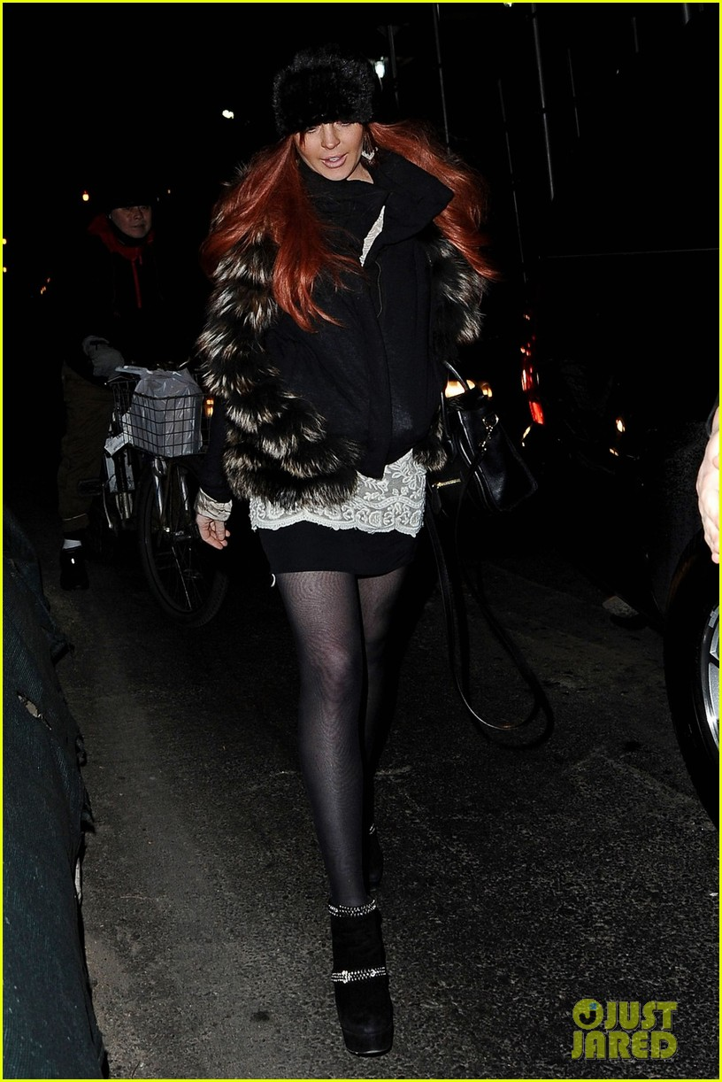 lindsay aliana lohan night out in new york city 05
