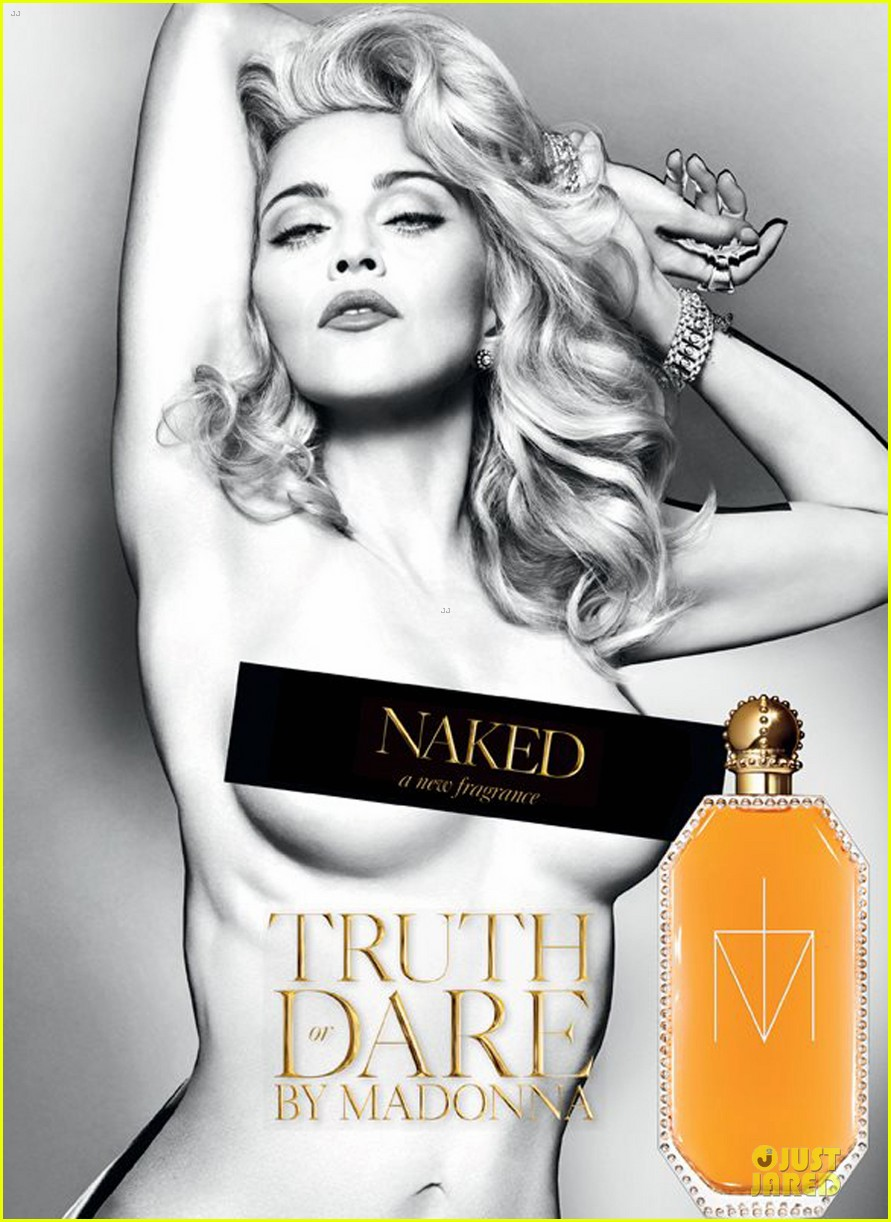 madonna topless truth or dared naked fragrance ad2761263