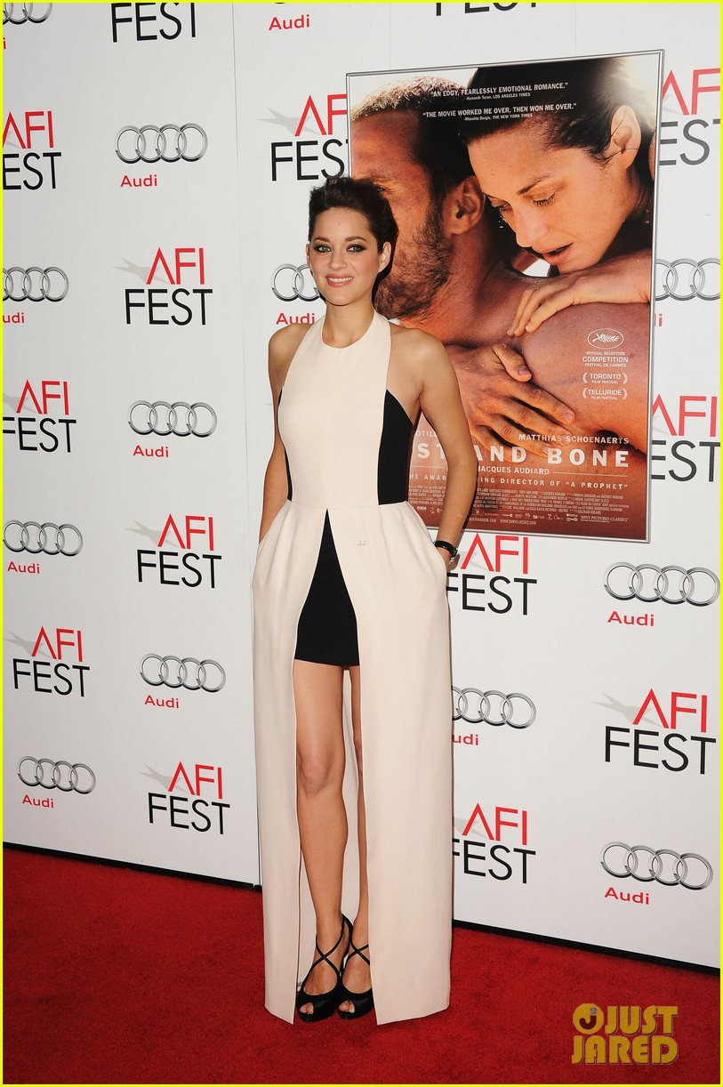 marion cotillard rust and bone afi fest premiere 11