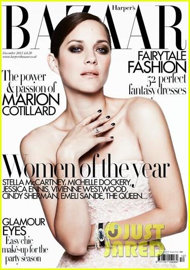 marion cotillard covers harpers bazaar uk december 2012 012749415