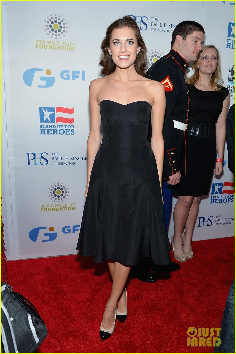 john mayer allison williams stand up for heroes event 012754090