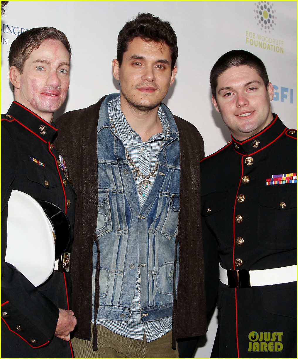 john mayer allison williams stand up for heroes event 032754092