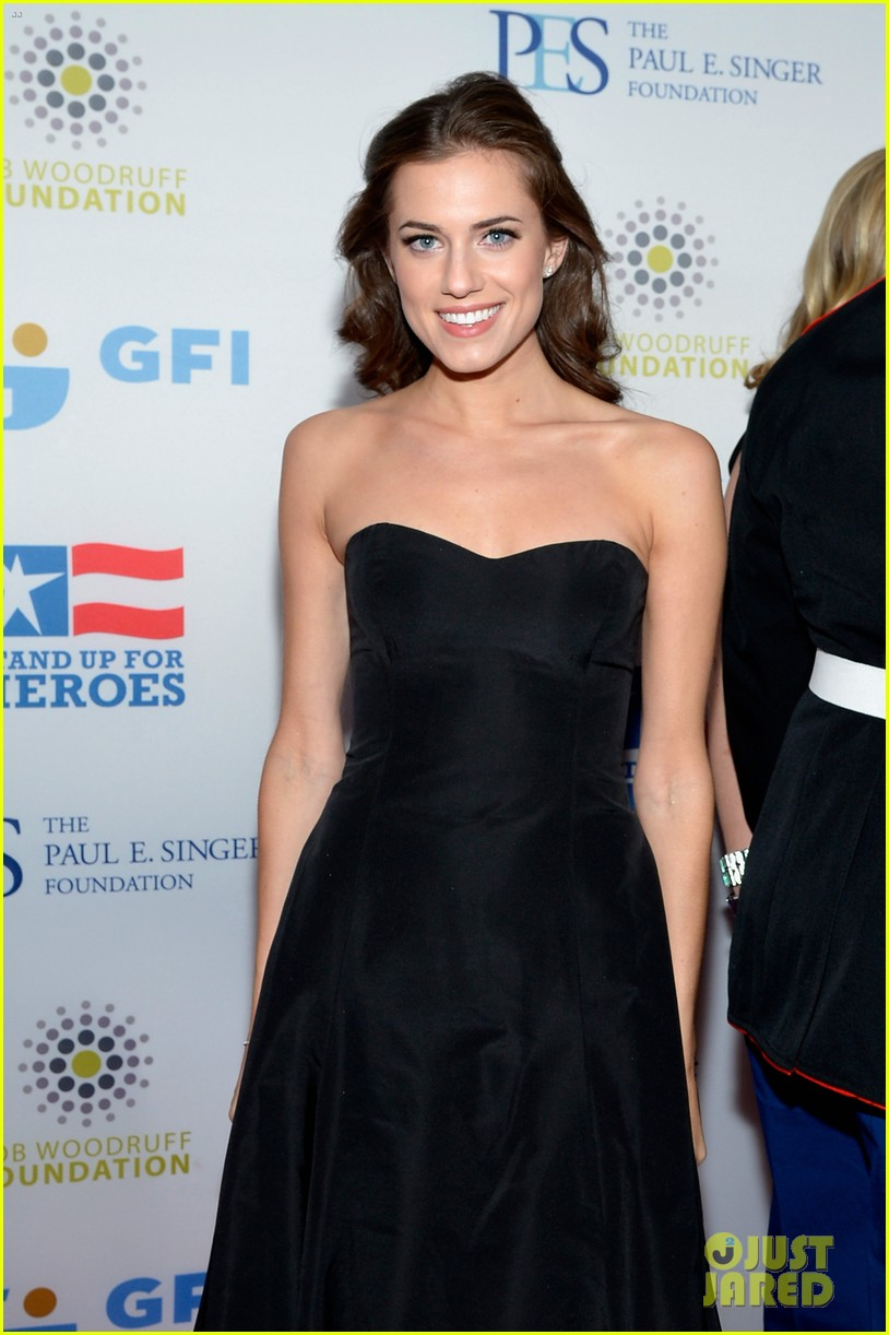john mayer allison williams stand up for heroes event 07