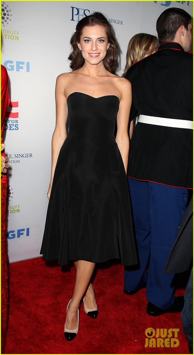 john mayer allison williams stand up for heroes event 172754106