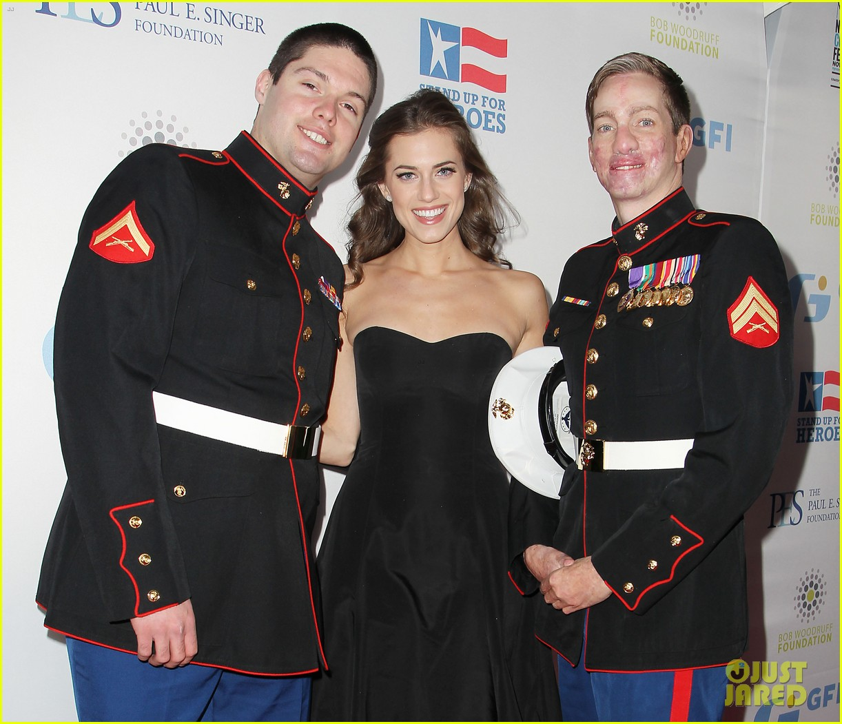 john mayer allison williams stand up for heroes event 18
