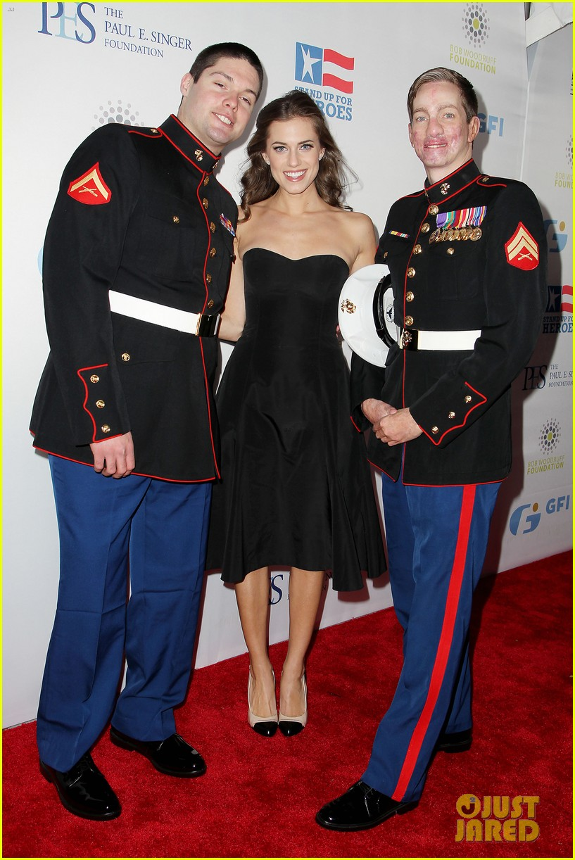 john mayer allison williams stand up for heroes event 192754108