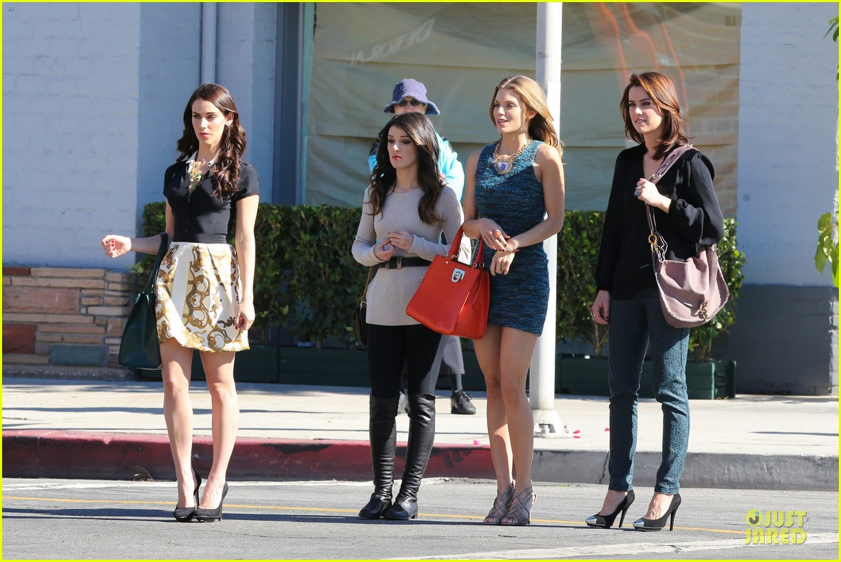 annalynne mccord 90210 set with shenae grimes & jessica stroup 172756817
