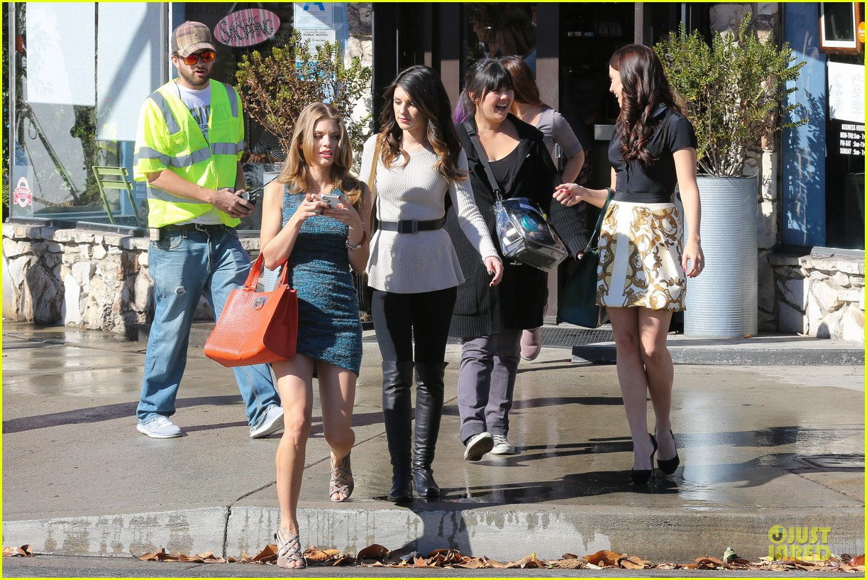 annalynne mccord 90210 set with shenae grimes & jessica stroup 192756819