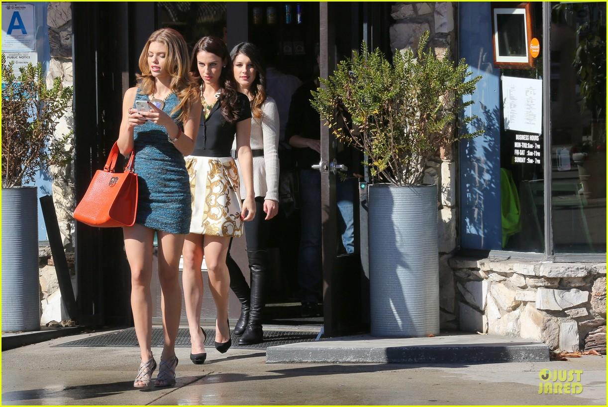 annalynne mccord 90210 set with shenae grimes & jessica stroup 202756820