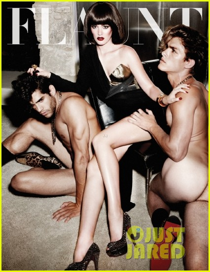 leighton meester topless for flaunt magazine 01