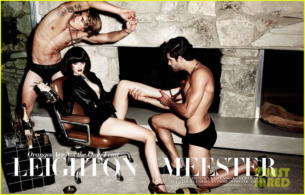 leighton meester topless for flaunt magazine 032762674