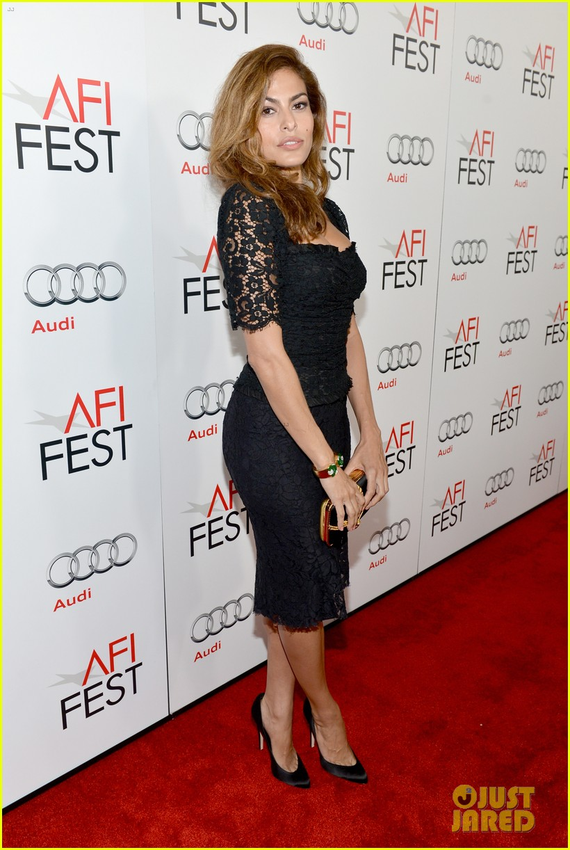 eva mendes holy motors afi screening 09