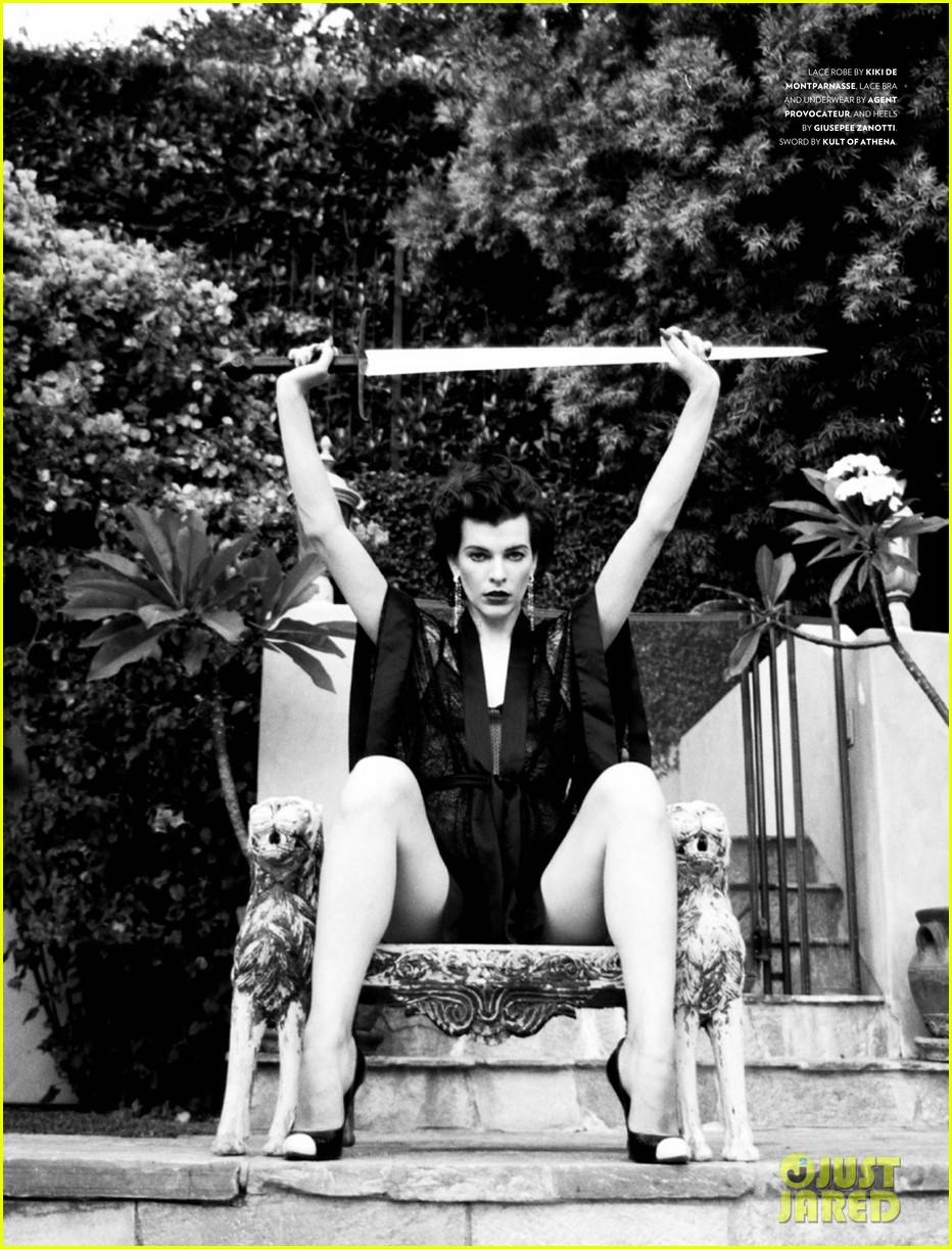 milla jovovich flaunt magazine feature 082752536