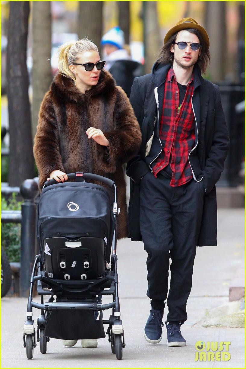 sienna miller tom sturridge sunday stroll with baby marlowe 032763679