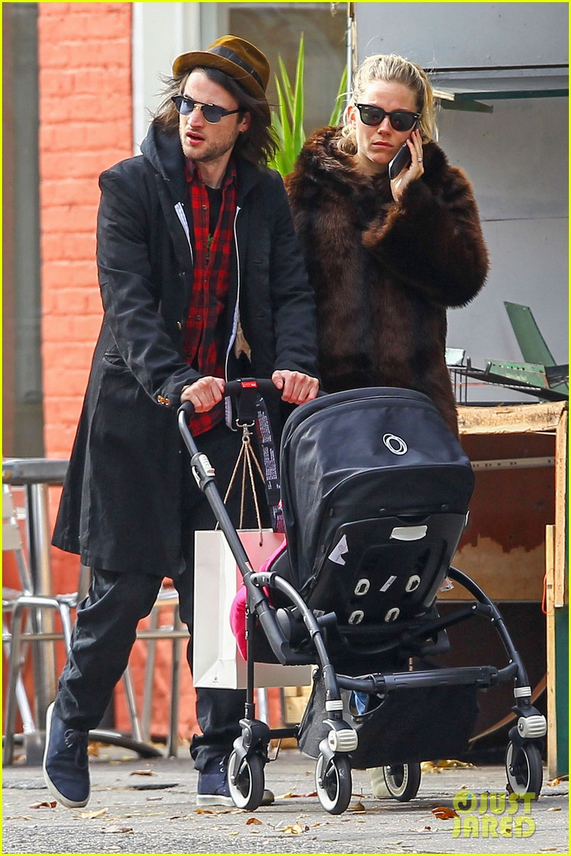 sienna miller tom sturridge sunday stroll with baby marlowe 052763681