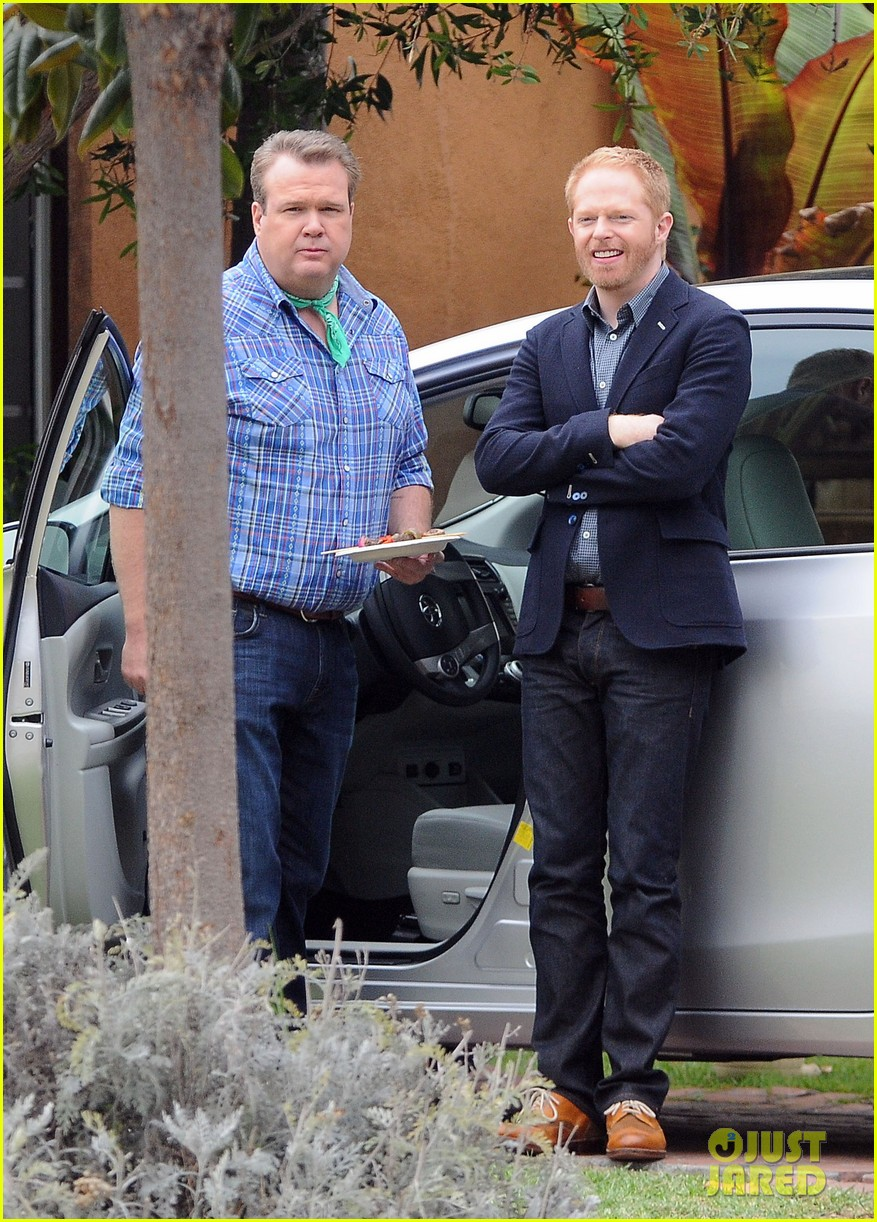 modern family filming scenes 04