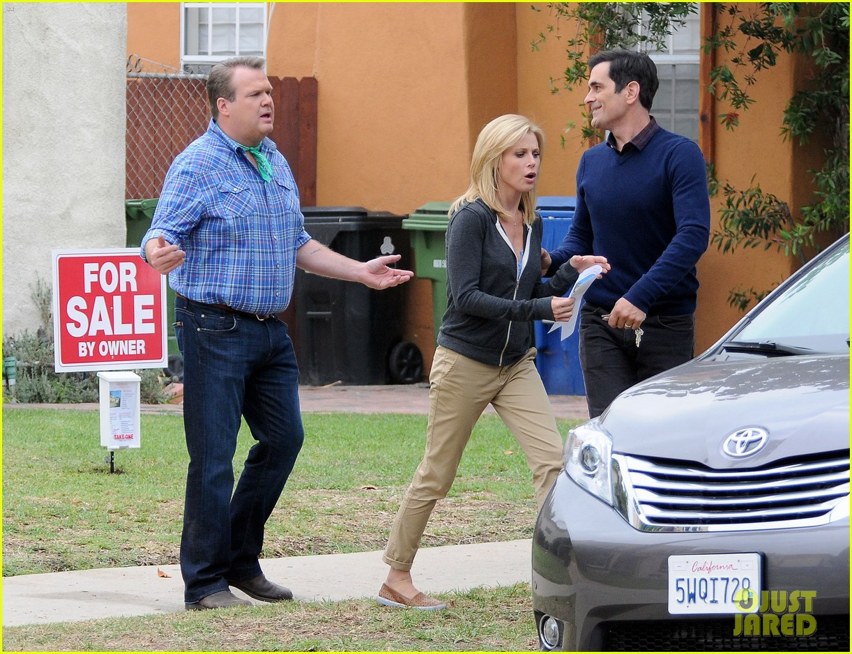 modern family filming scenes 05