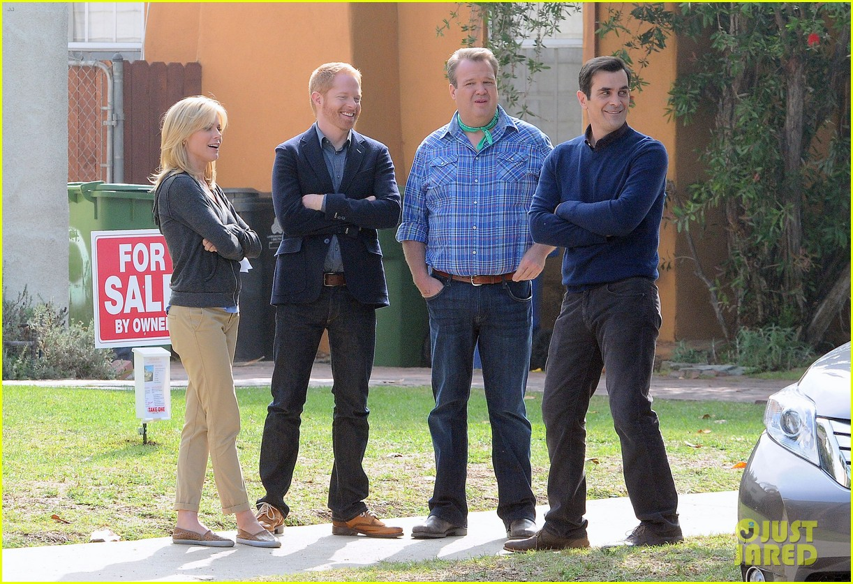 modern family filming scenes 112749639