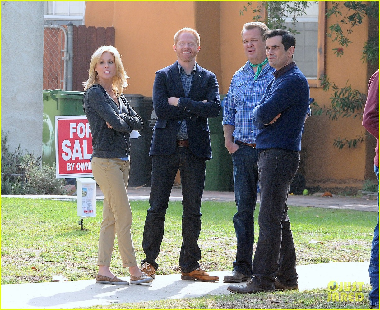 modern family filming scenes 15