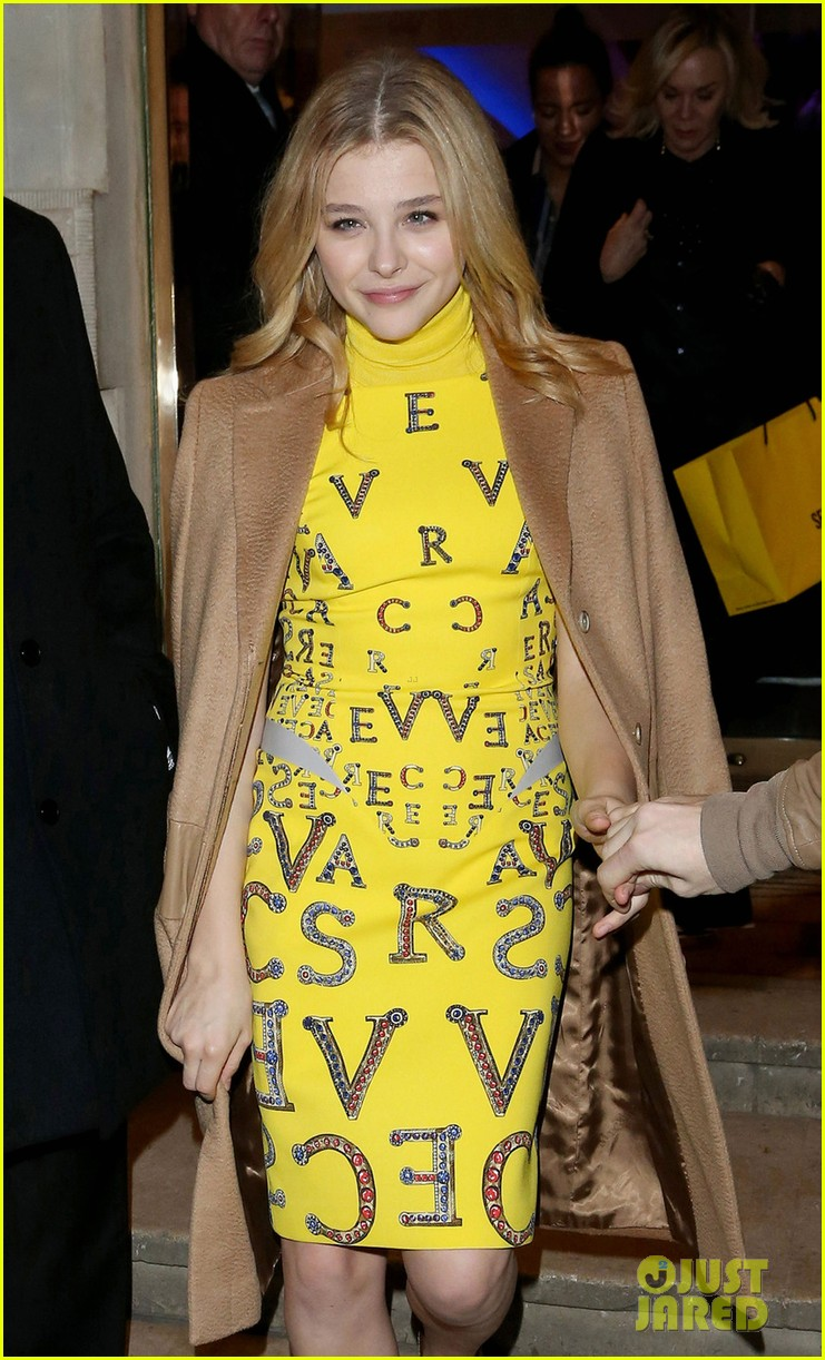 chloe moretz bbc children in need auction with liberty ross 022758965