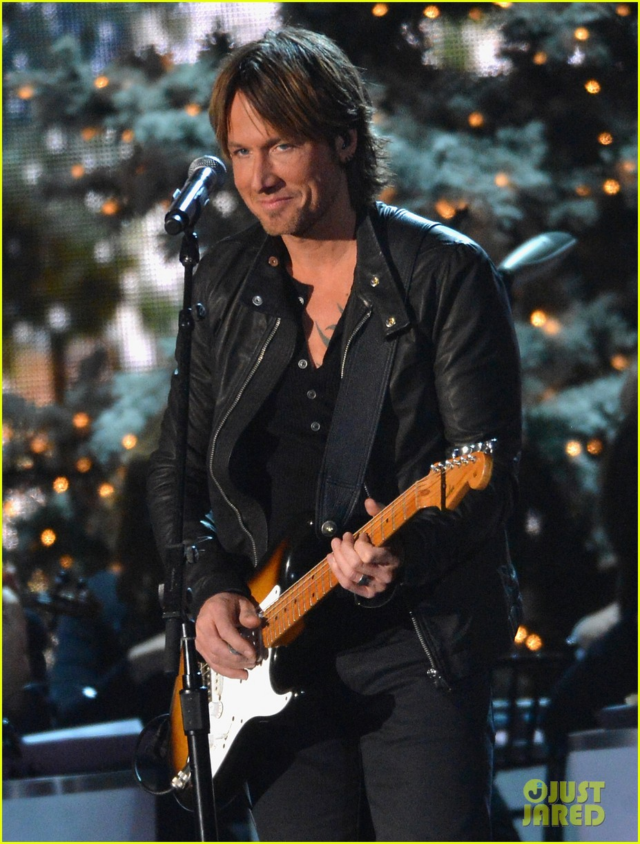 keith urban jennifer nettles country christmas taping 042750583