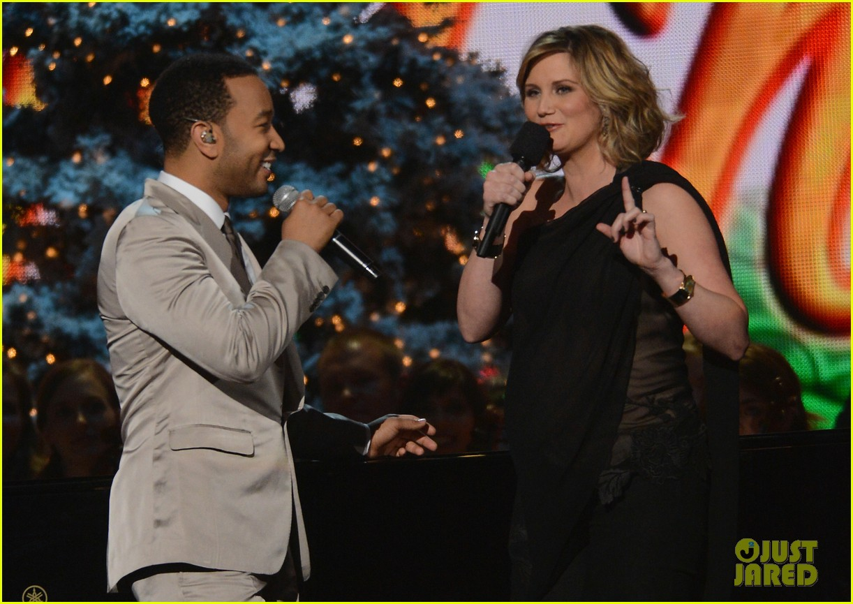 keith urban jennifer nettles country christmas taping 132750592