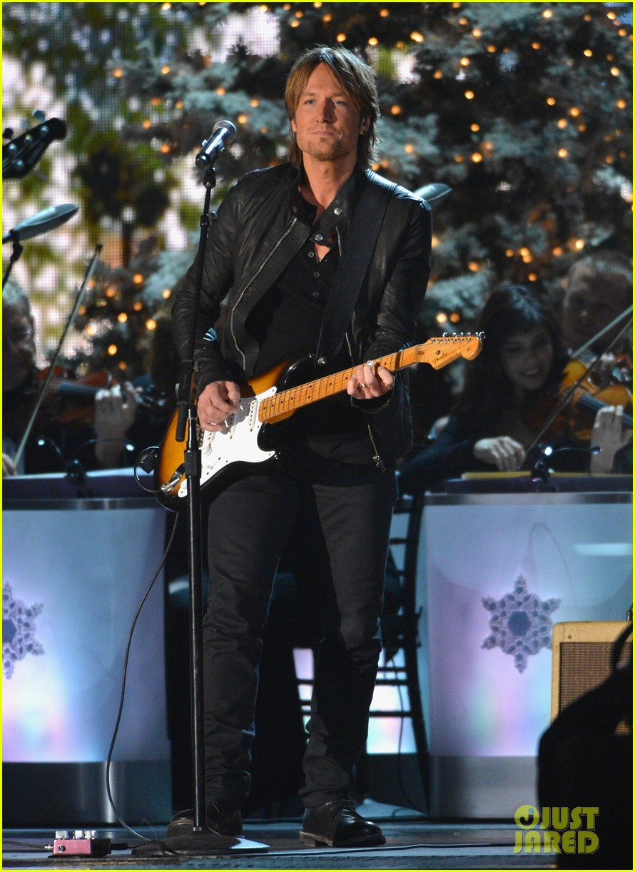 keith urban jennifer nettles country christmas taping 23