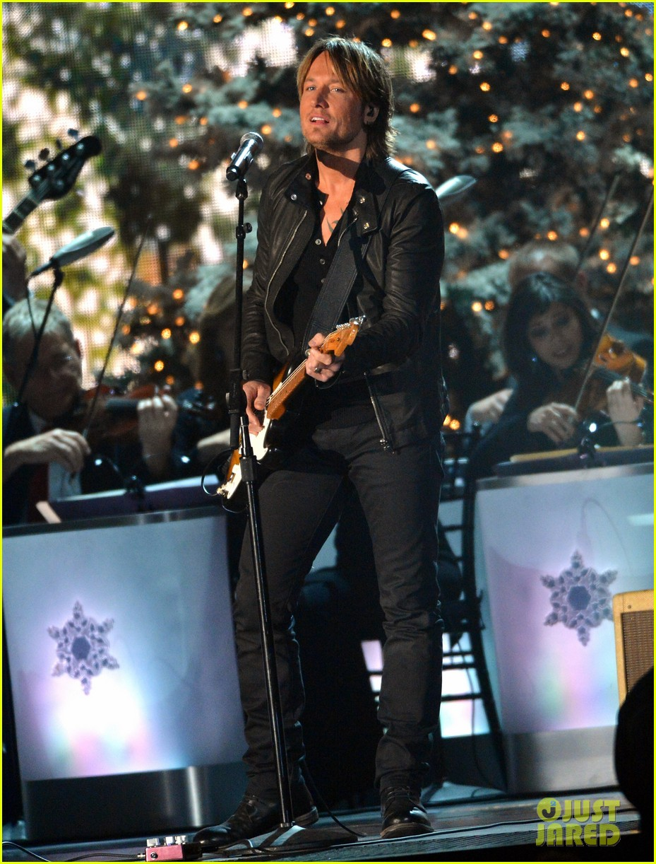 keith urban jennifer nettles country christmas taping 24