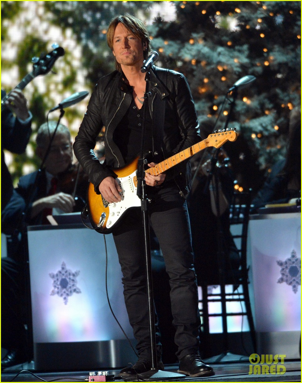 keith urban jennifer nettles country christmas taping 252750604