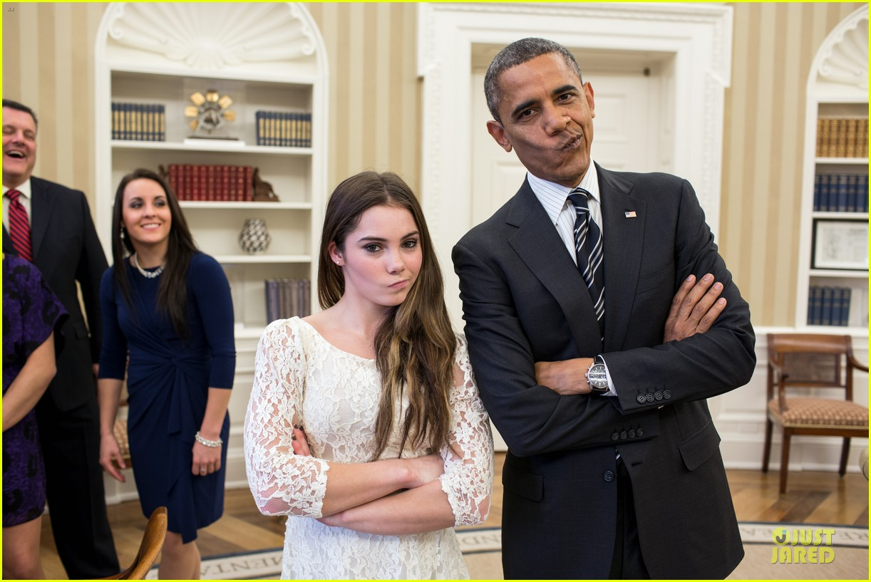 president obama mckayla maroney not impressed meeting 012759498