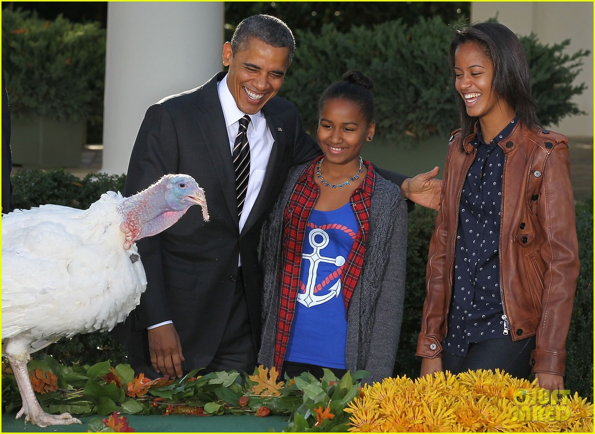 president obama kids pardon thanksgiving turkey 052762113