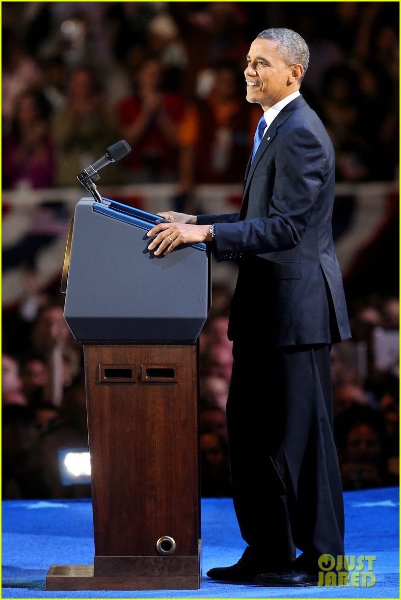 watch barack obama victory speech for election 2012 052752402