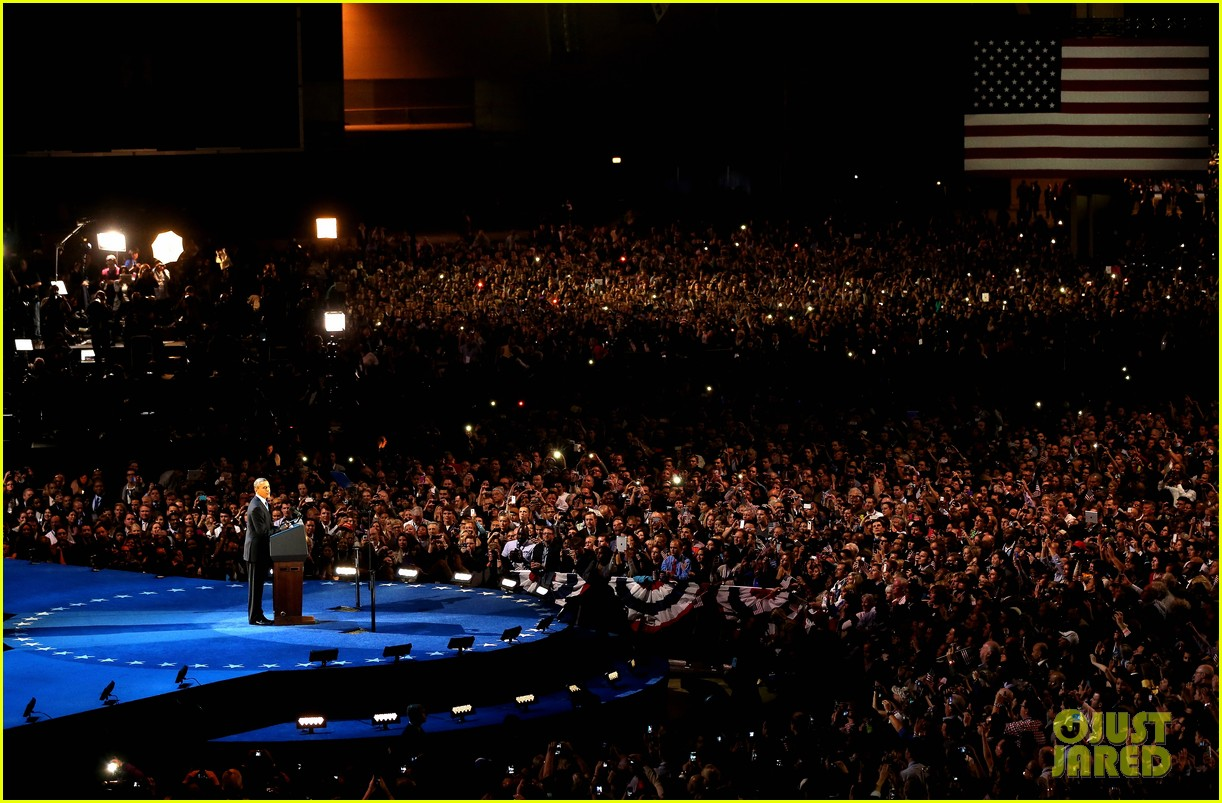 watch barack obama victory speech for election 2012 162752413