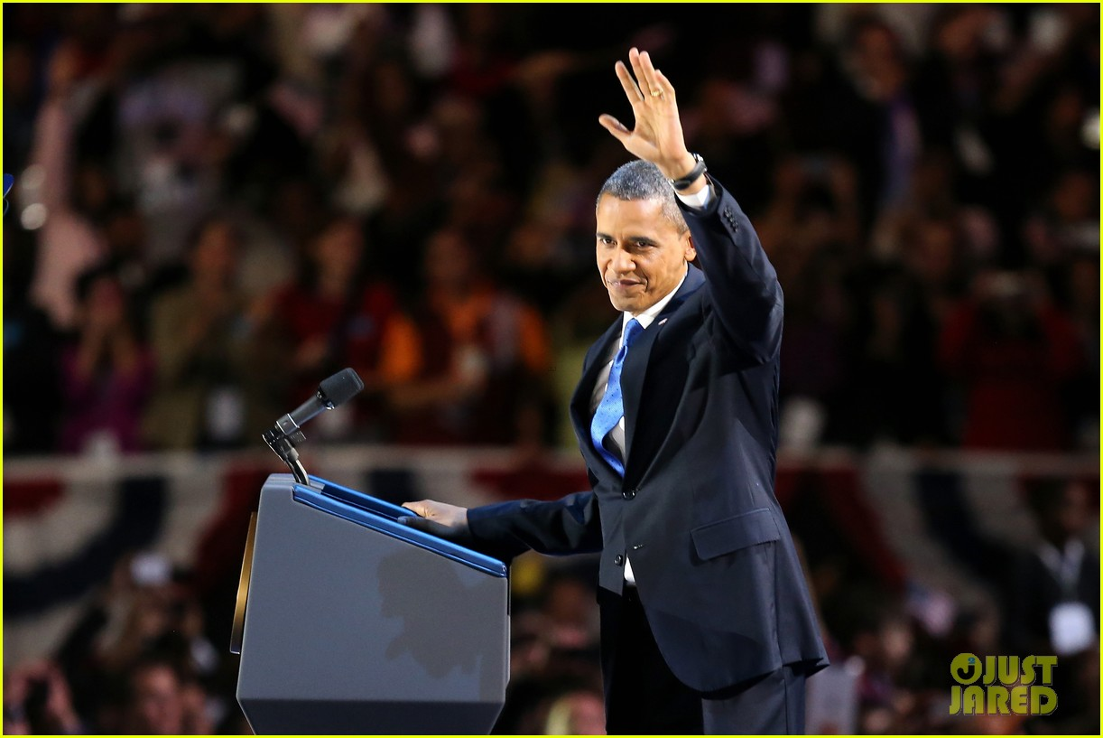 watch barack obama victory speech for election 2012 182752415