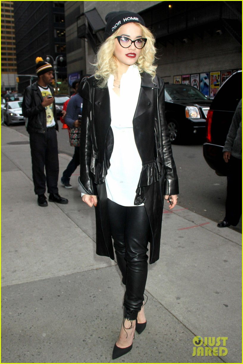 rita ora late show david letterman guest 032749452