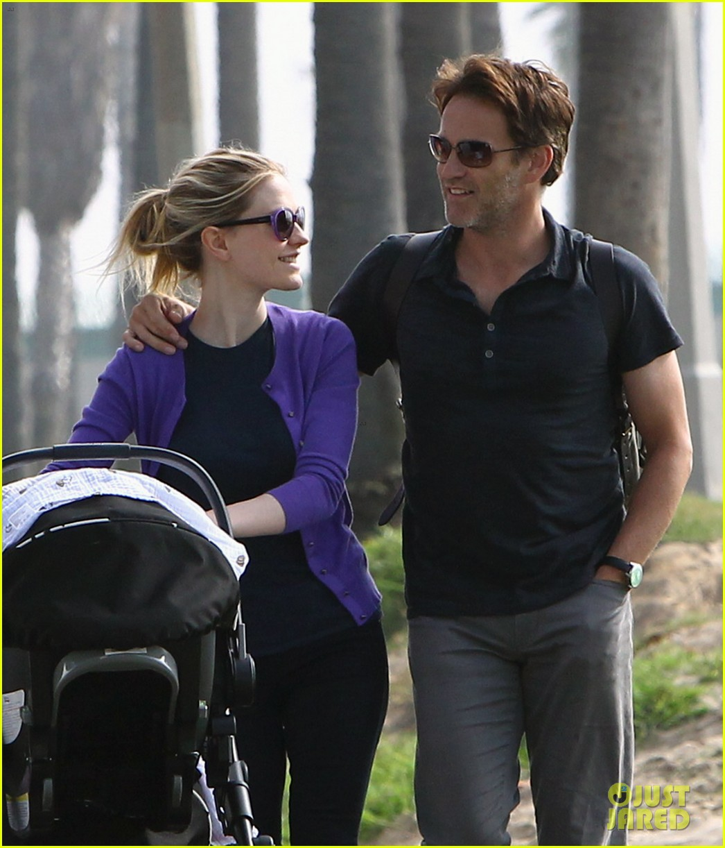 anna paquin stephen moyer park stroll with the twins 062752792
